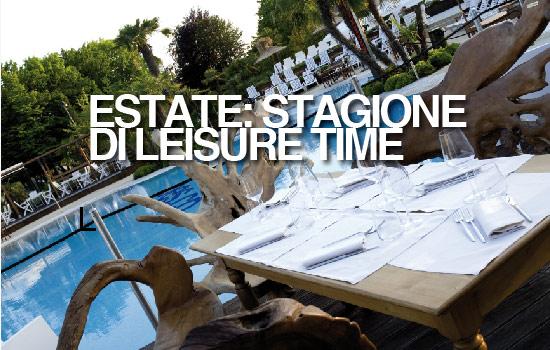 ESTATE: STAGIONE DI LEISURE TIME