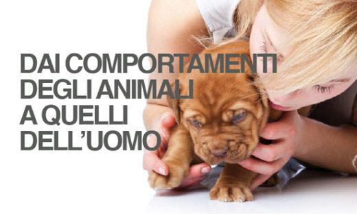 DAI COMPORTAMENTI DEGLI ANIMALI  A QUELLI  DELL'UOMO