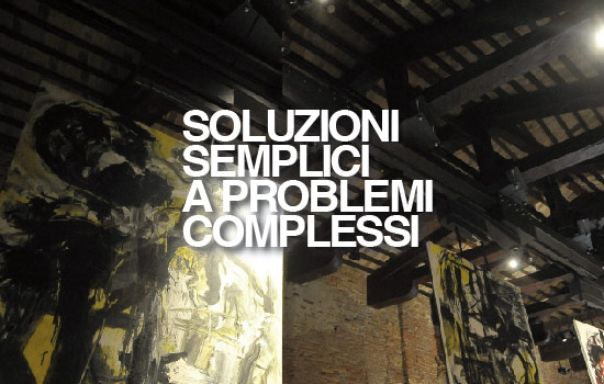 SOLUZIONI SEMPLICI A PROBLEMI COMPLESSI