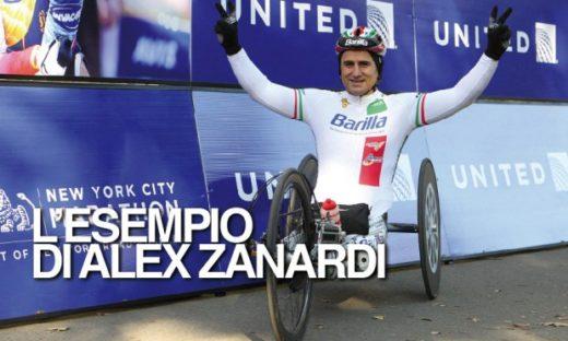 L'esempio di Alex Zanardi