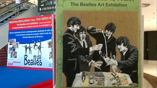 Beatles Art Exhibition