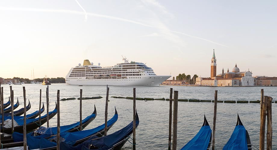 Venice Blue Flag 2021: emissioni crociere ridotte già a 15 miglia al largo