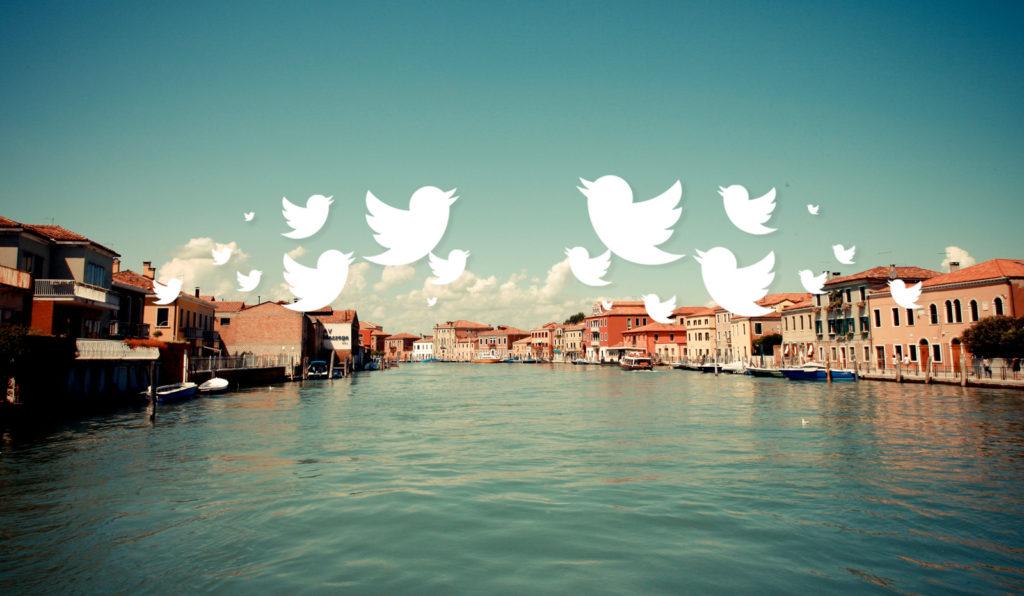 """È Venezia il Comune che """"twitta"""" di più"""