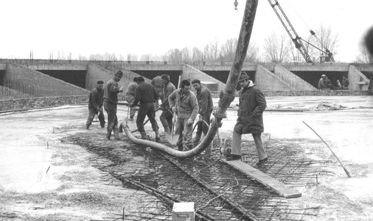 Fasi della lavorazione a gennaio 1975