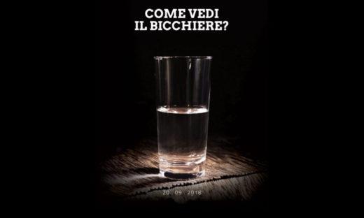 Per noi il bicchiere è sempre mezzo pieno