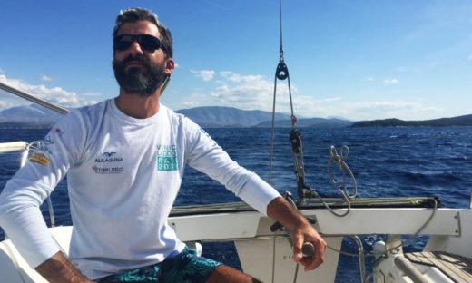Francesco Cerclin Re, la mia nuova vita in barca a vela