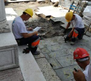Numerazione della pavimentazione
