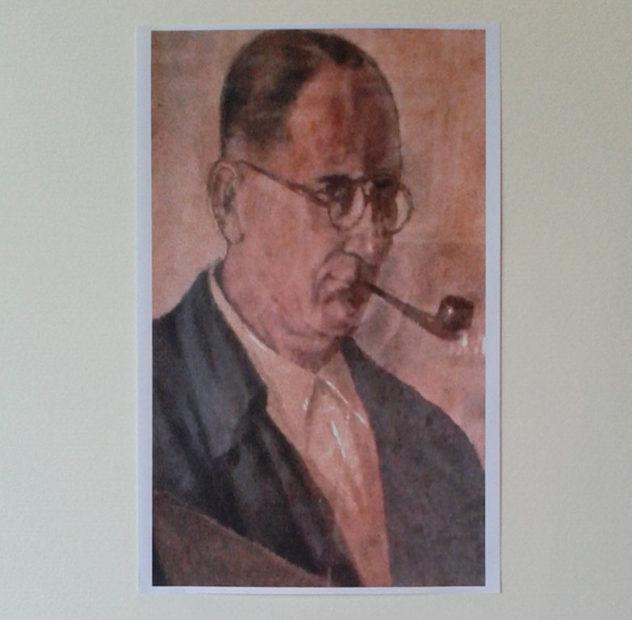 Dolo: Amos Scorzon, il vignettista di guerra e pittore di pace.