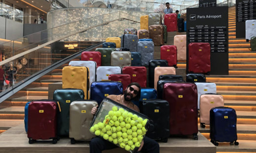 Il successo (tutto veneziano) di un'idea: la Crash baggage, la valigia già ammaccata
