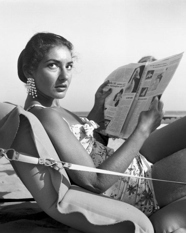 Maria Callas - Lido di Venezia 1950 - PH© Vittorio Pavan Archivio Cameraphoto