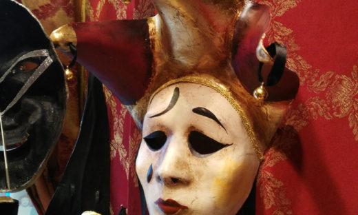 Sergio Boldrin, el mascarer