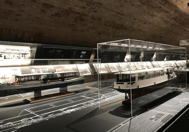 Mostra Trasporti Forte Marghera - Allestimento interno