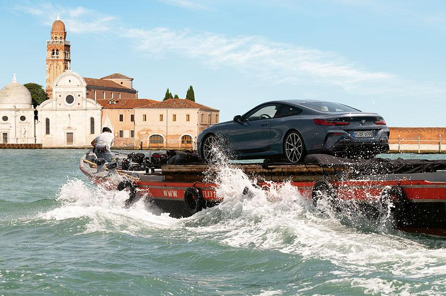 Venezia scelta come palcoscenico per il lancio mondiale della nuova BMW