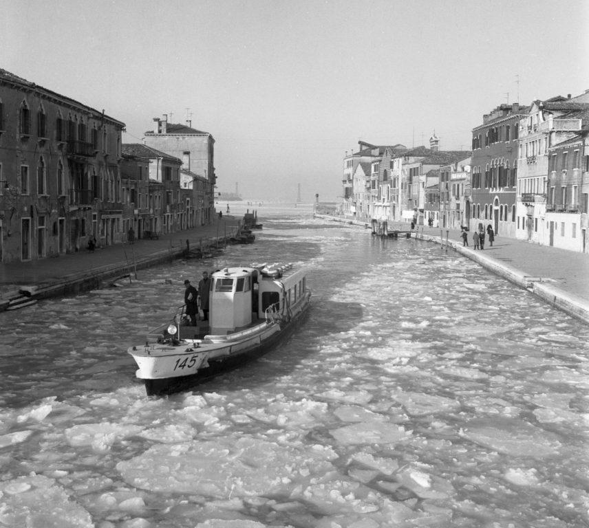 Laguna Ghiacciata -  Venezia 1963 - PH© Vittorio Pavan Archivio Cameraphoto