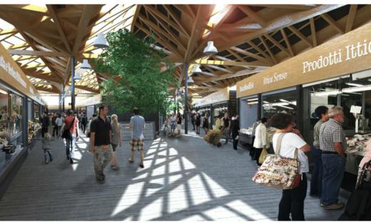 Un mercato rionale contemporaneo per Mestre