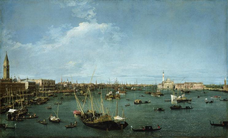 Canaletto -Bacino di San Marco