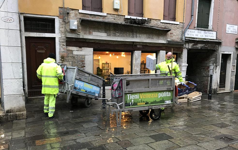 Raccolta differenziata, eccellenza di Venezia