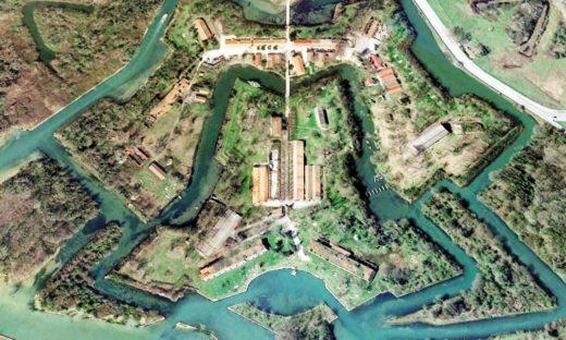 A Forte Marghera in barca, su canali puliti e navigabili