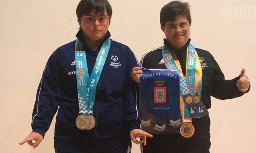 Marina e Stefania: le due campionesse degli Special Olympics