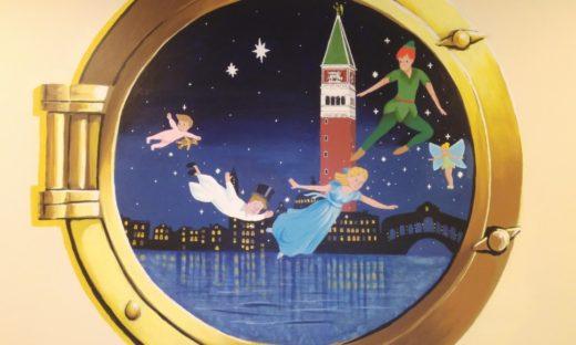 Tutti in corsia: c'è Peter Pan!