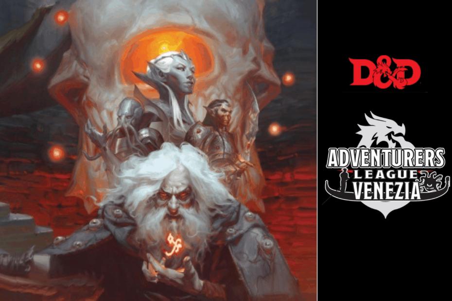 Prova i giochi di ruolo con D&D Adventure League Venzia