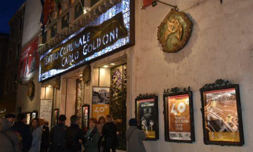 Teatro Goldoni in festa per i primi quarant'anni di attività