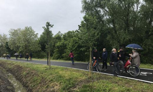 Con la bicicletta da Favaro a Dese in sicurezza