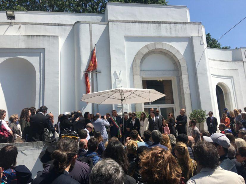 L'inaugurazione del Padiglione Venezia alla Biennale Arte 2019
