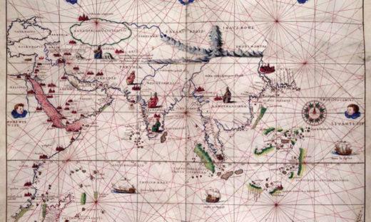 La geografia dei marinai tra carte nautiche e antichi portolani