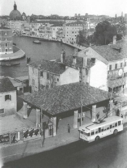 Piazzale Roma: le vecchie corriere