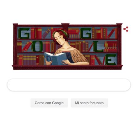 Doodle di Google dedicato a Elena Lucrezia Cornaro Piscopia