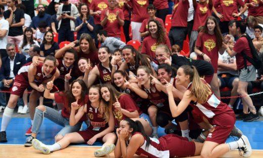 Under 20 e Under 18 femminile: altri due titoli per le giovanili Umana Reyer