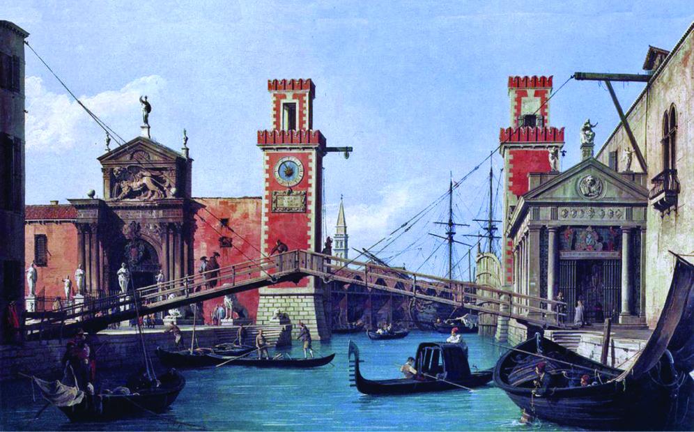 """L'Arsenale di Venezia. Storia del più antico """"arsanà"""" del mondo"""