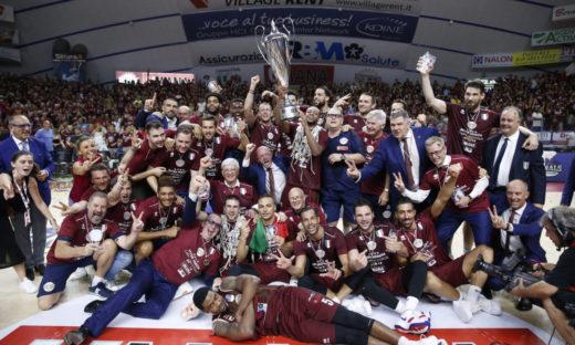 L'Umana Reyer Venezia è campione d'Italia di basket
