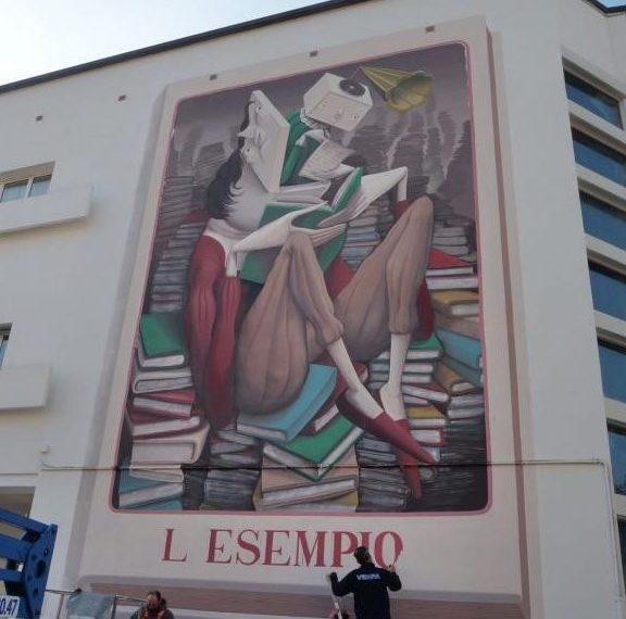 Murale a Mestre dedicato a Elena Lucrezia Cornaro Piscopia