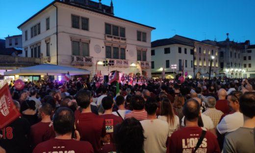 Venezia, le Città in festa per lo scudetto dell'Umana Reyer