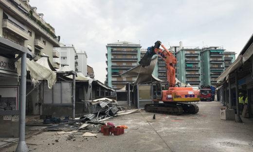 Nuovo mercato per Mestre: al via la demolizione del vecchio in Via Fapanni