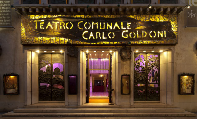 Il teatro Carlo Goldoni a Venezia