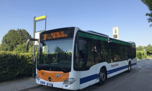 Autobus di ultima generazione. Actv rinnova il parco mezzi