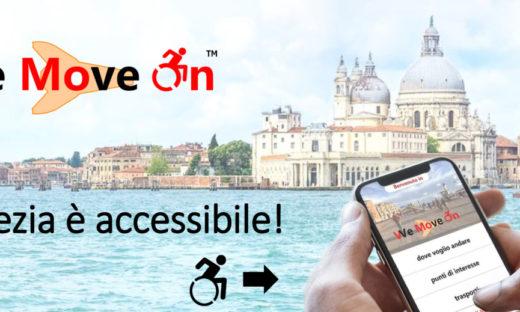 WeMoveOn: l'app per la Venezia accessibile premiata da Invitalia