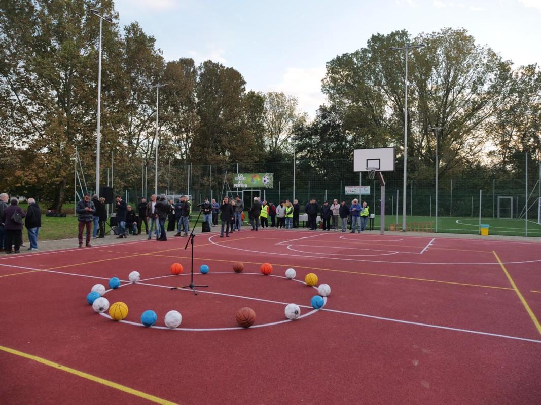 Nuova area per lo sport al Pertini di Mestre