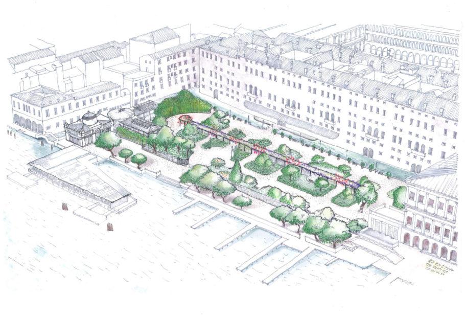 San Marco: i Giardini Reali riaperti al pubblico