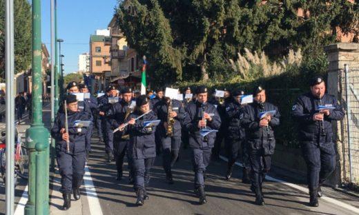 San Sebastiano: i vigili urbani festeggiano il Santo Patrono lungo le vie di Mestre