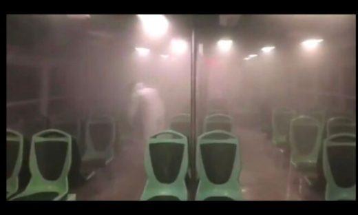 Coronavirus: nella Città Metropolitana di Venezia mezzi di trasporto sanificati ogni giorno