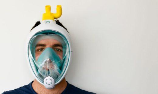 Creatività italiana. Arrivano in Veneto 500 maschere per respirare