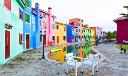 """Burano a 9000 km da Venezia. Il mondo """"italian style"""""""