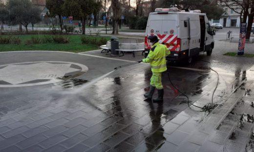 Strade sicure: la sanificazione non crea rischi