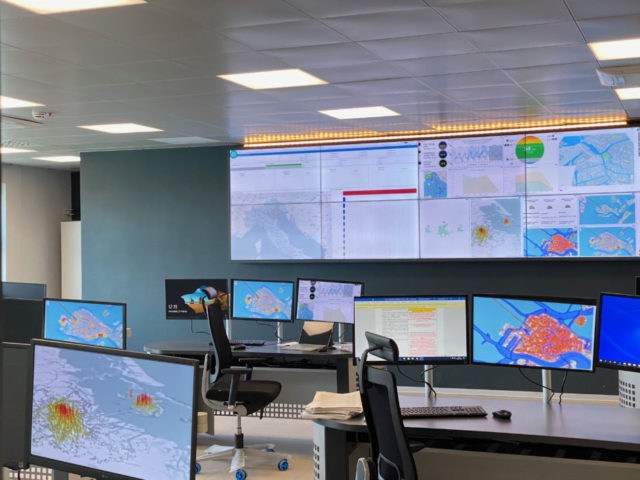 La Smart Control Room del Tronchetto