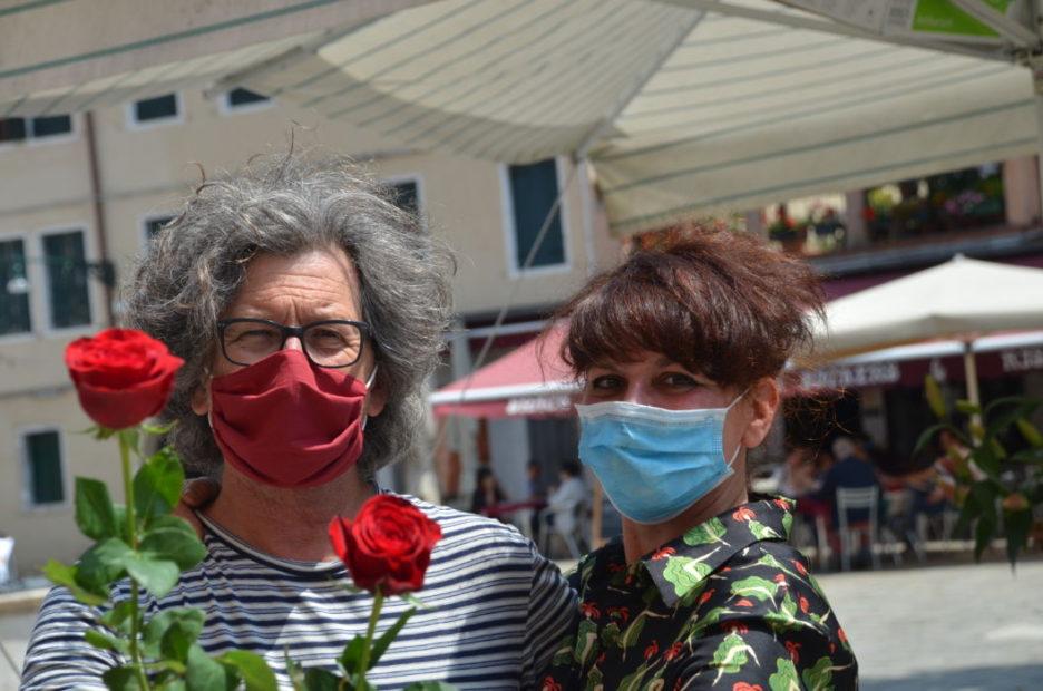 Tra fiori ed essenze Campo Santa Margherita ritrova la sua quotidianità