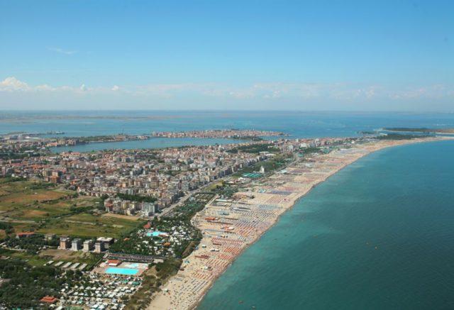 La spiaggia di Sottomarina, Chioggia